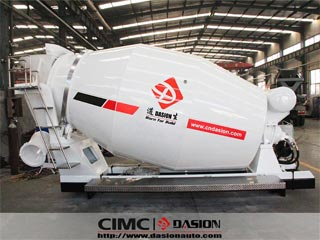 4-7CBM Concrete mixing drum